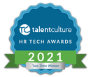 HR Tech Badge 2-time TalentCulture Winner